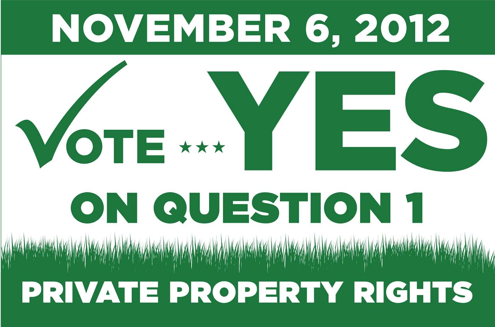November 6th Is Fast Approaching And Many People Are Still Not Aware Of The Property Rights Cons Utional Amendment And How Its P Age Or Lack Thereof