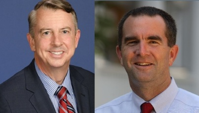 Candidate for Virginia governor was endorsed by prominent neo-Confederate at 'Old South Ball'