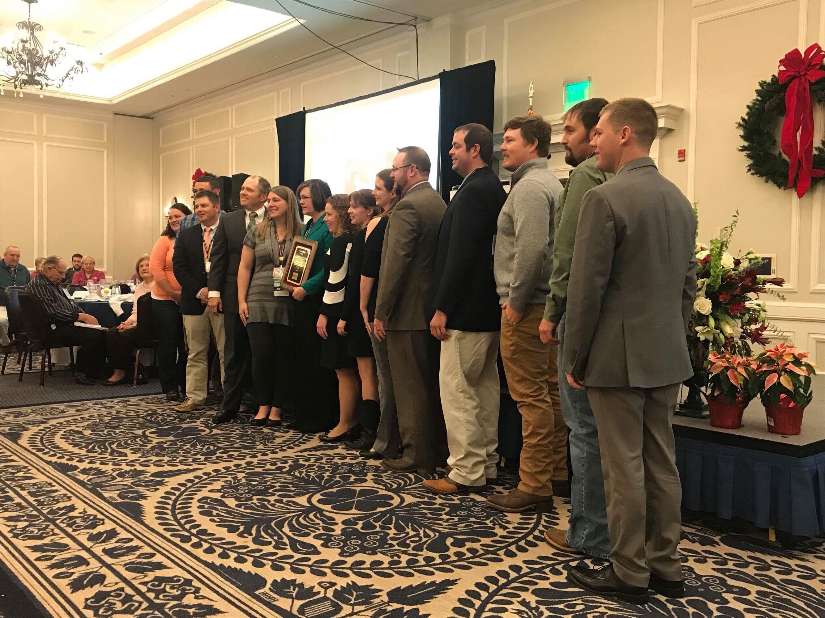 young farmers honor virginia farm bureau executive with warren beach award plows and politics. Black Bedroom Furniture Sets. Home Design Ideas