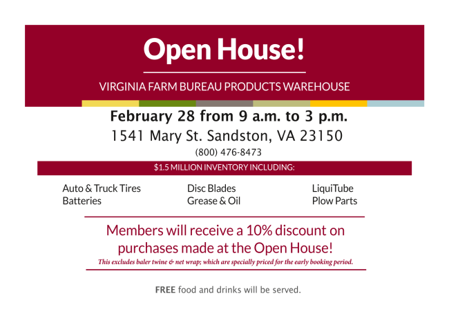 Warehouse Open House 2020 Spring