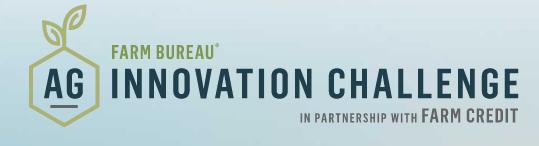 2021 FB Ag Innovation Challenge
