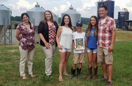 CJ Isbell 2020 Farmer of the Year